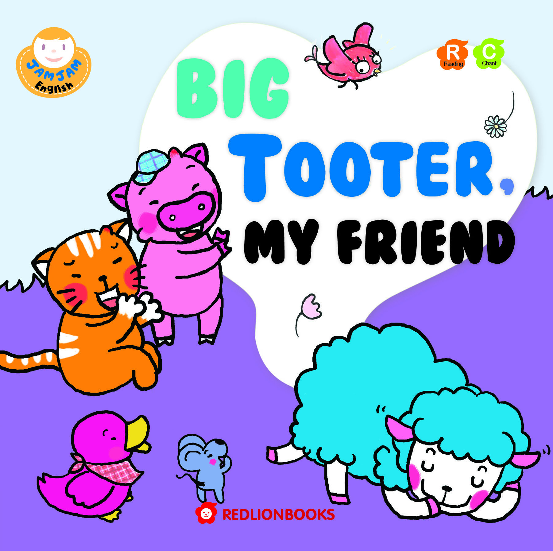 JAMJAM Enaglish BIG TOOTER MY FRIEND