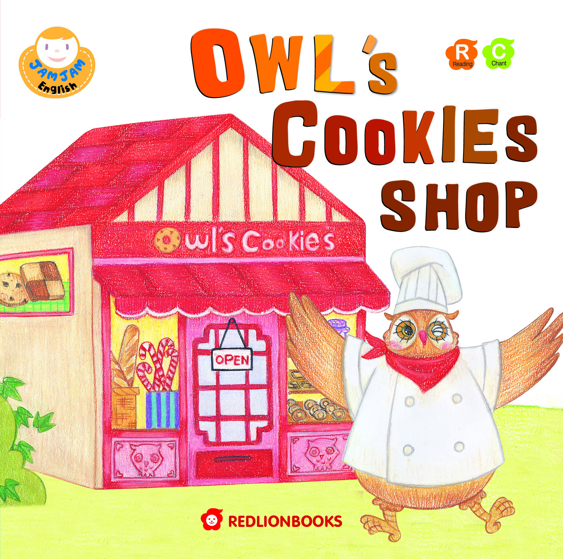 JAMJAM Enaglish OWL'S COOKIES SHOP